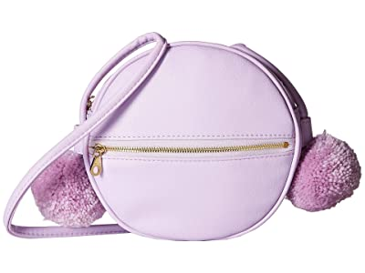 ban.do Sidekick Crossbody Circle Bag II (Lilac) Handbags