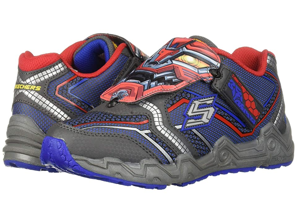 SKECHERS KIDS Modulus 97485L (Little Kid) (Charcoal/Red) Boy