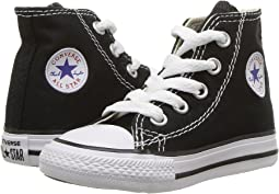 a76efc21db Converse kids chuck taylor all star core hi little kid black + FREE ...