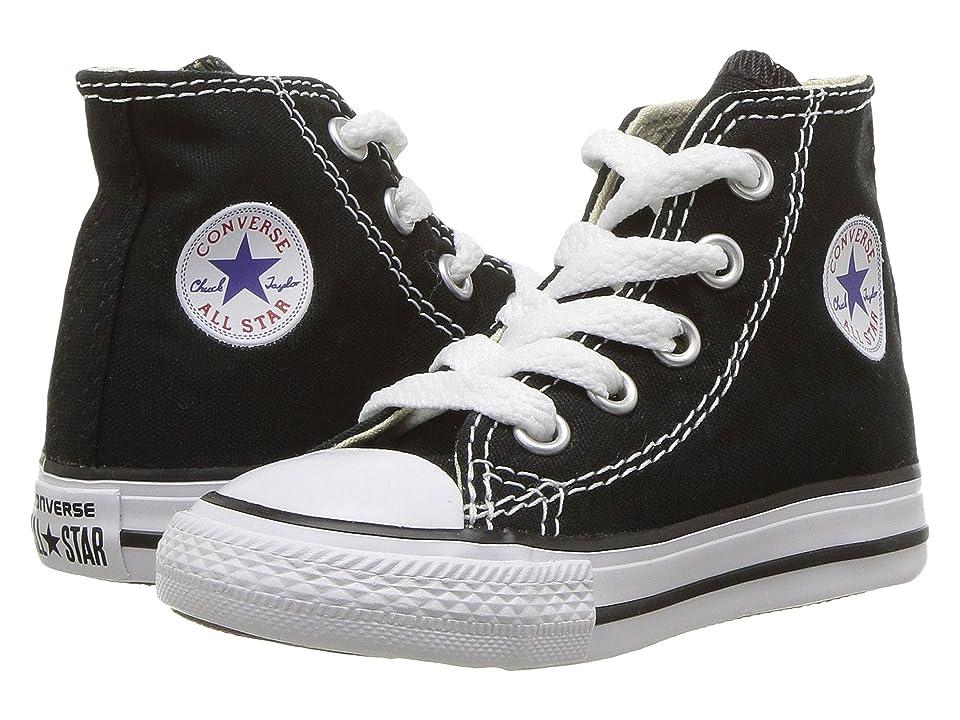 Converse Kids Chuck Taylor(r) All Star(r) Core Hi (Infant/Toddler) (Black) Kids Shoes