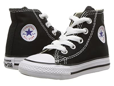 Converse Kids Chuck Taylor(r) All Star(r) Core Hi (Infant/Toddler) (Black) Kids Shoes