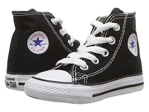 high top black converse kids