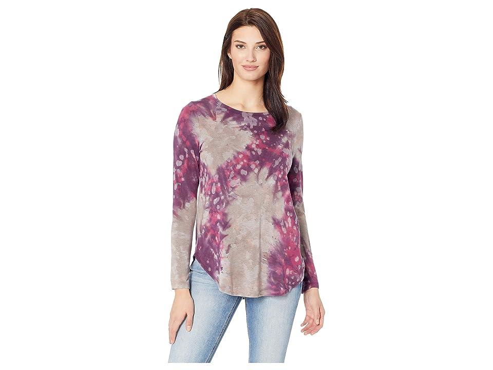 Karen Kane Shirttail Tee (Tie-Dye) Women