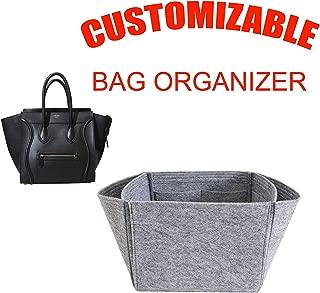 For Celine Luggage Phantom large size organizer purse insert,bag shaper,