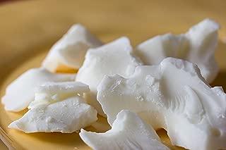 Hansi Naturals White Cocoa Butter 16 Ounces Semi-Deodorized Perfect For Skin Care Products PURE WHITE