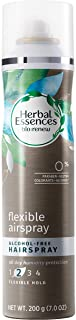 Herbal Essences Bio-Renew Flexible Airspray Alcohol-Free Hairspray, 7.0 Fl Oz