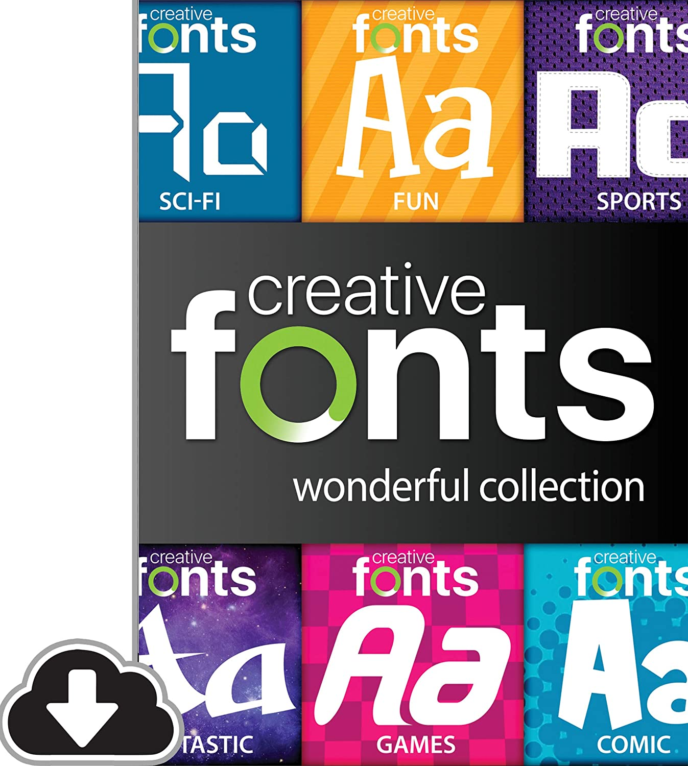 Creative Finally resale start Fonts Wonderful Download Collection PC Regular store