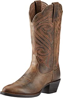 Women's Round Up R Toe Western Cowboy Boot