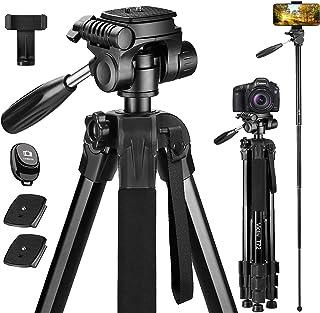 Cámara profesional vídeo trípode fotográfico trípode de cámara 160 cm Tripod ZB para Nikon d3500