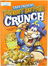 Cap'n Crunch Peanut Butter Crunch Cereal 14 oz. (Pack of 4)