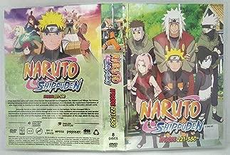 NARUTO SHIPPUDEN (ENGLISH AUDIO) - COMPLETE TV SERIES DVD BOX SET ( 221-380 EPISODES )