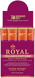 Sponsored Ad - Bruno MD Royal Collagen Peptides - Beauty from Within, Clinically Proven, Dietary Supplement, Improves Skin...