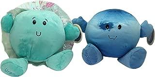 Celestial Buddies Ice Planets Plush Set Uranus Neptune