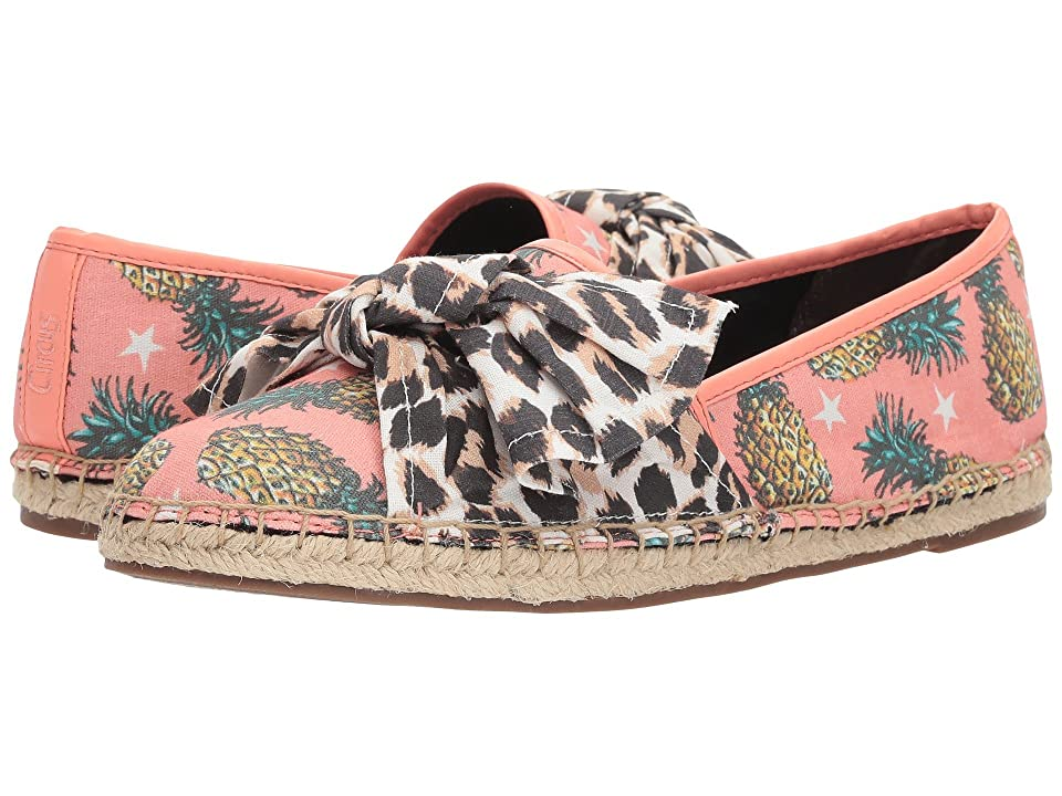 Circus by Sam Edelman Lilian (Peach Multi/Leopard Pineapple Stars/Leopard Canvas) Women