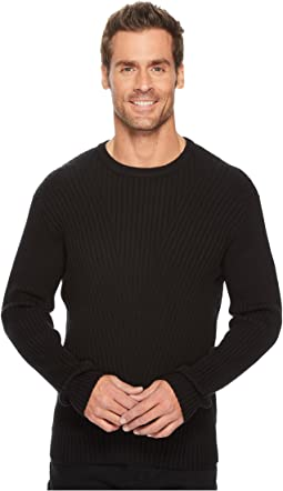 Kenneth Cole Sportswear - Rib Crew Sweater