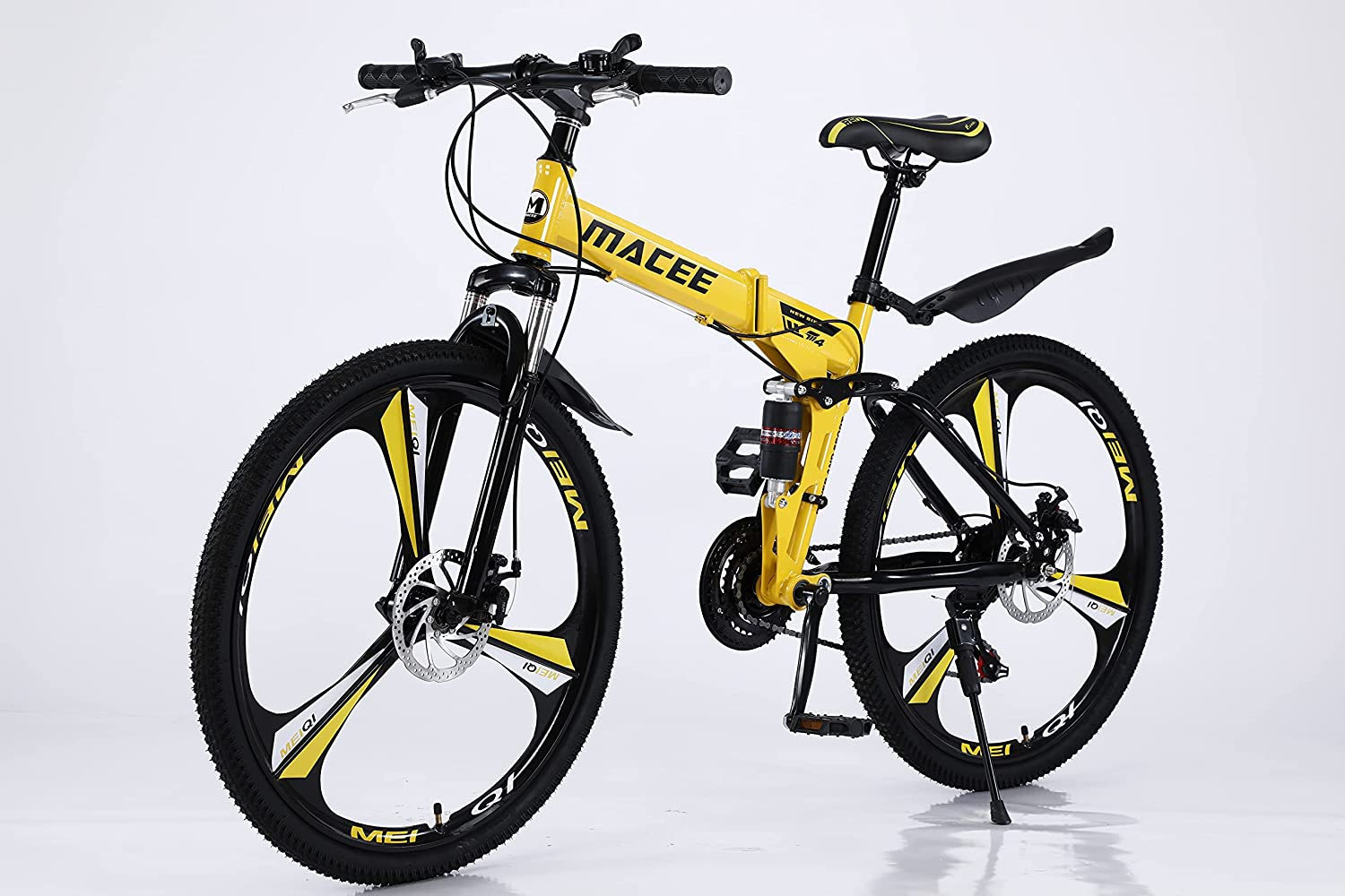 VICXYY Price reduction Mountian Bike for Adults 24 - Folding Bicicle Plegab Sales results No. 1