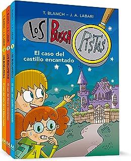 Pack Los BuscaPistas: El caso del castillo encantado   El caso del librero misterioso   El caso del robo de la Mona Louisa...
