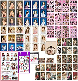 Twice Gifts Set for Once, 36Pcs Twice Feel Special Lomo Card + 30 Pcs Twice YES OR YES Lomo Card + 4 Sheets of Stickers + ...
