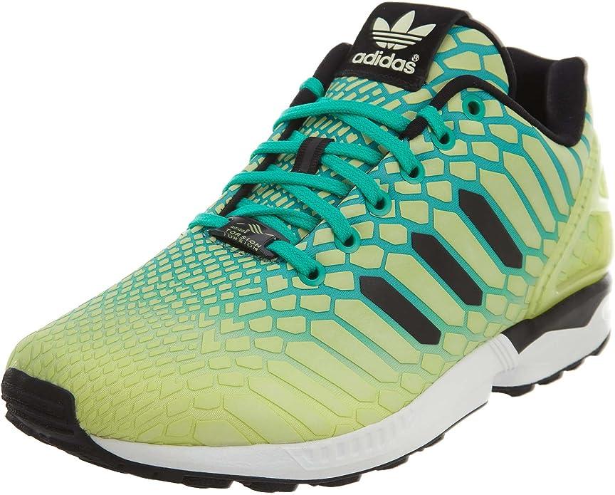 adidas Men's Zx Flux Froyel/White Running Shoe