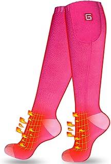 Hombres Mujeres Calcetines térmicos eléctricos recargables Calor de batería Calcetines térmicos, Deportes Al aire libre Novedad de invierno Calcetín de calentamiento cálido, Escalada Senderismo Esquí Calentador de botas