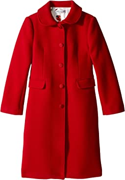 Dolce & Gabbana Kids - Back to School Wool/Cashmere Coat (Big Kids)