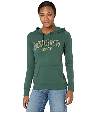 Champion College Oregon Ducks Eco University Fleece Hoodie (Dark Green 3) Women