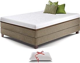 Live & Sleep Ultra Queen Mattress, Gel Memory Foam Mattress, 12-Inch, Cool Bed in a Box, Medium-Firm Advanced Support - Bo...