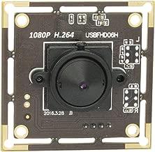 SVPRO Full HD 1080P Mini USB Camera Module Board,Webcam USB 1080P H.264 Low Illumination Full HD USB Pinhole Camera Module with 3.7mm Lens