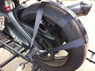 New Motorcycle Front Wheel Handlebar Transport Bar Tie Down Strap BL