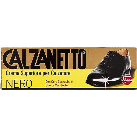 Calzanetto Lucido Tubetto, Nero, Trattamenti scarpe, 3.5 Cmx 35 Cmx 5 cm