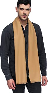 HOYAYO Mens Classic Cashmere Warm Long Winter Scarf(Various Colors)