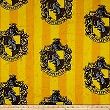 Camelot Fabrics Harry Potter Hufflepuff Fleece, Yard, Multi