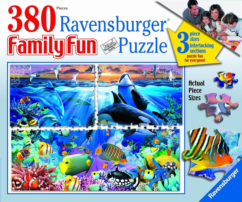Ravensburger Ocean Marvels  380 Piece Family Fun Puzzle