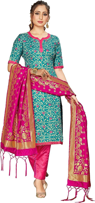 Indian Pakistani Readymade Women's Salwar Indefinitely Si Art Long Beach Mall Kameez Banarasi