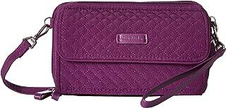 Vera Bradley Iconic RFID All-In-One Crossbody Gloxinia Purple One Size