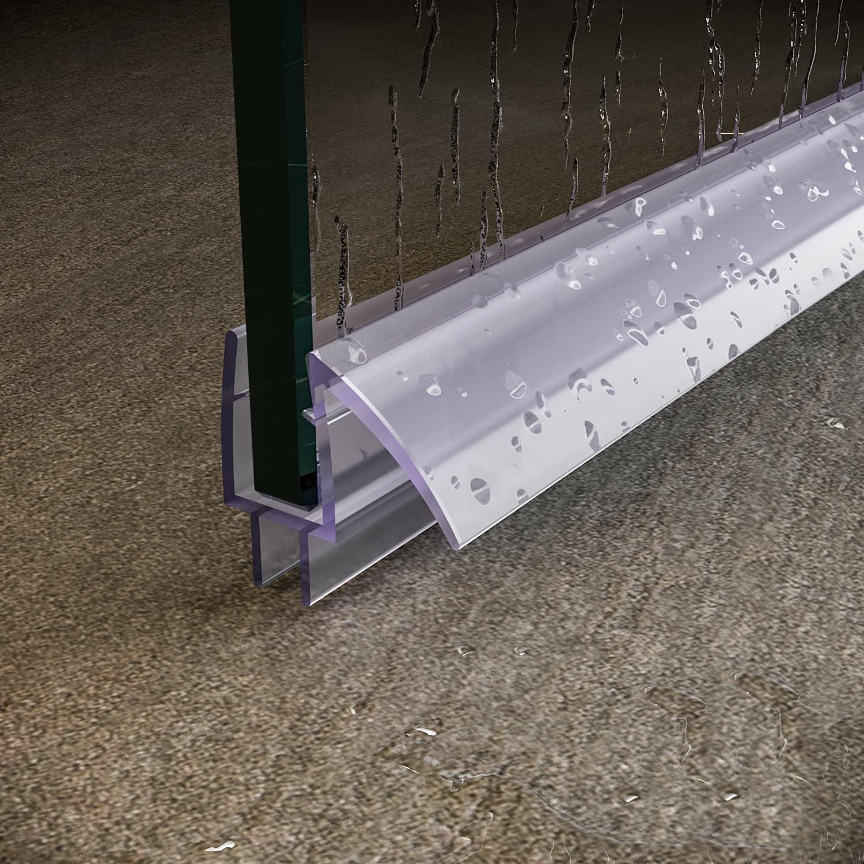 SUNNY SHOWER Max 72% OFF JT-391 Glass Shower Door Sho Length Quality inspection Bottom 36