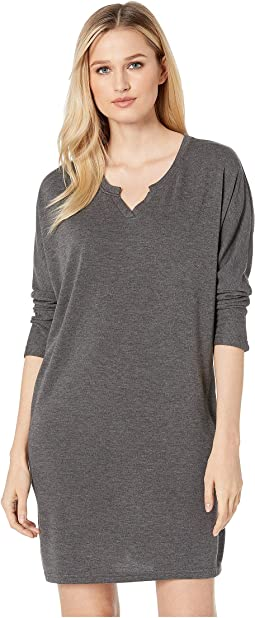 Lorelei V-Neck Sweatshirt Dress