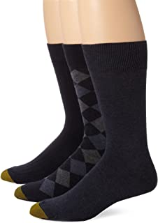 Gold Toe Men's Classic Argyle Sock, 3 Pack