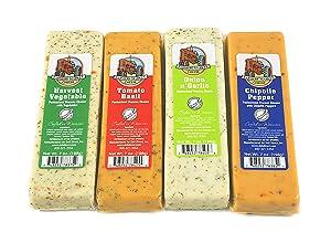 Farmers Market Wisconsin Cheese Blocks 4 Pack