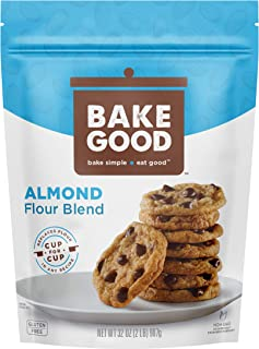 Sponsored Ad - BakeGood Almond Flour Blend, 2lb, 1-to-1 Replacement for All Purpose Flour, Gluten Free, Non-GMO, Kosher