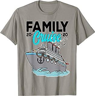 Family Cruise 2020 Matching Vacation Ship Wear Gift Idea T-Shirt