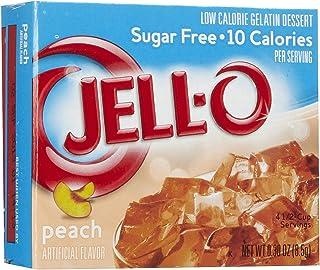 Jell-O Peach, Sugar-Free Gelatin Dessert