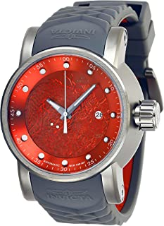 Invicta Men's S1 Rally Stainless Steel Automatic-self-Wind Watch with Silicone Strap, Grey, 24 (Model: 28184)