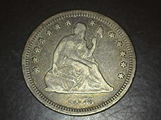 Best 1876 seated liberty quarter Reviews