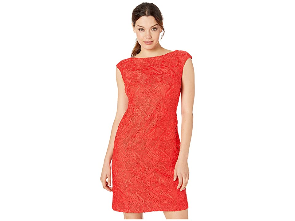 LAUREN Ralph Lauren Cithya Dress (Summer Poppy) Women