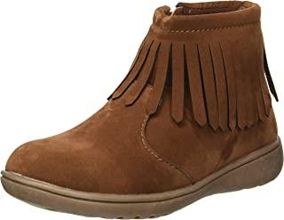 Carter's Kids' Girl's Cata3 Brown Fringe Chukka Boot