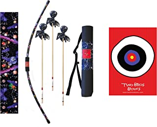 Two Bros Bows Galaxy Archery Combo Set, Kids Bow and Arrow, Toy Bow and Arrow, Bow and Arrow, Archery Set for Kids