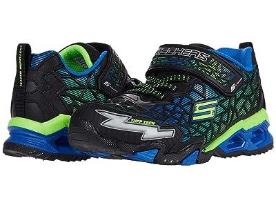 SKECHERS KIDS Sport Lighted Hydro Lights Tuff Force (Little Kid/Big Kid) (Blue/Black/Lime) Boy