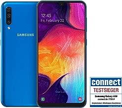 Samsung Galaxy A50 Smartphone (16.3cm (6.4 Zoll) 128GB interner Speicher, 4GB RAM, Blau) - Deutsche Version