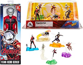 Giant & Small Super Action Fun Marvel Ant-Man & Wasp 6 Figure Hero Collection Playset Quantum Pod Team Titan 12